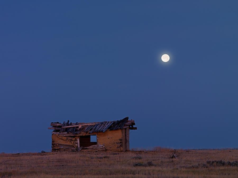 Choteau Cabin Photograph