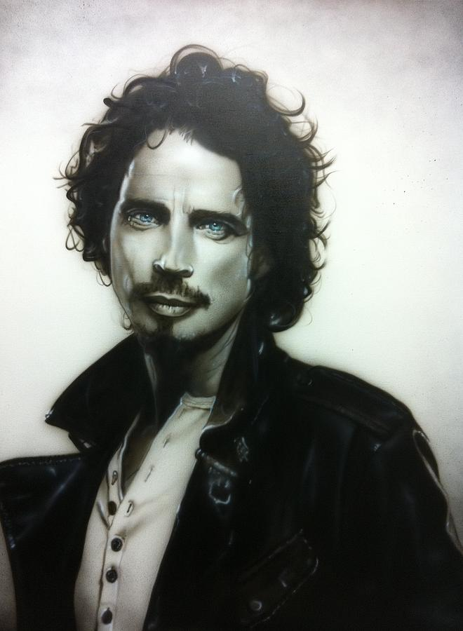 chris Cornell Painting  - chris Cornell Fine Art Print
