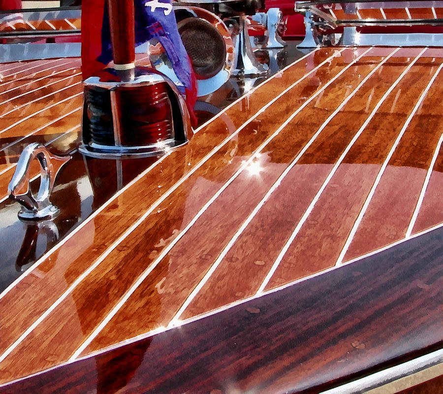 Chris Craft Bow Photograph