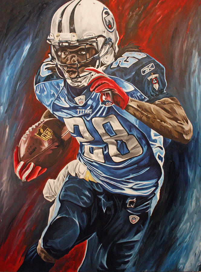 Chris Johnson 2010 Painting