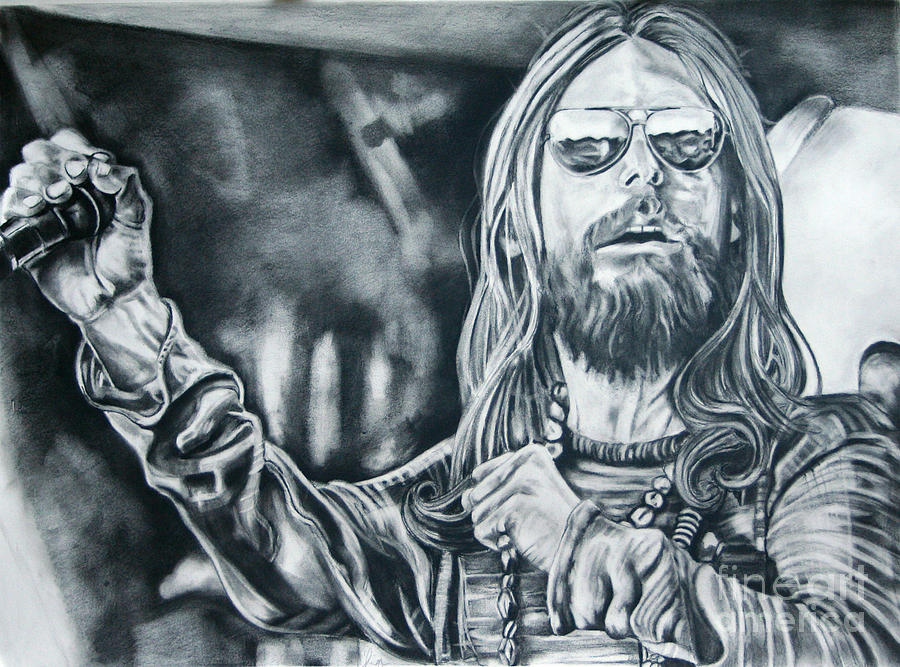Chris Robinson Drawing  - Chris Robinson Fine Art Print