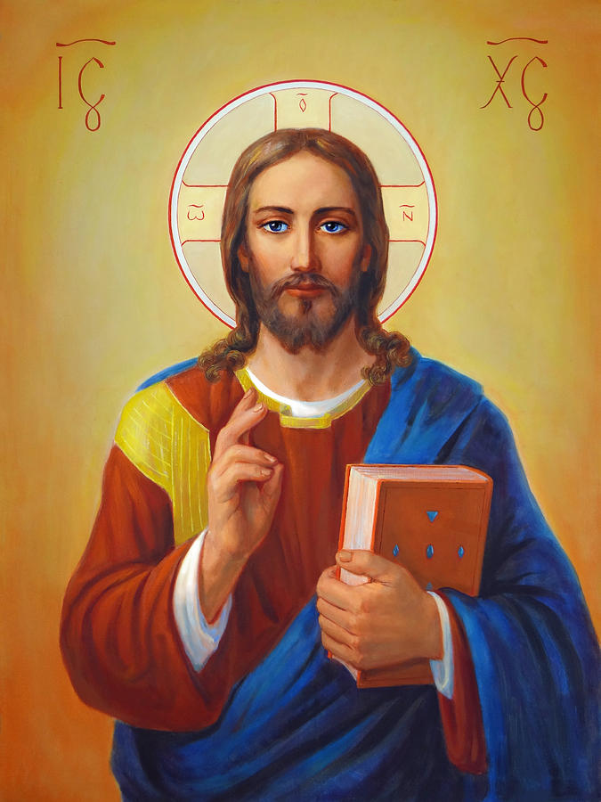 Christ Pantocrator Painting