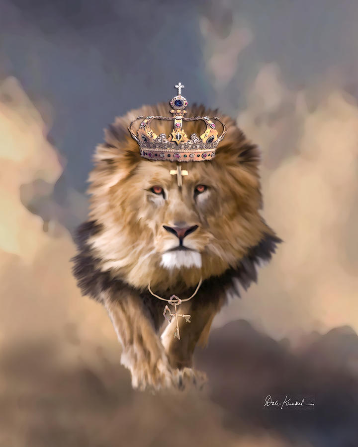 Christian Art - Lion of Judah by Dale Kunkel  ~  x