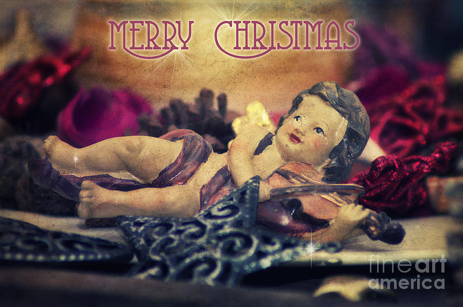 Christmas Angel II Photograph  - Christmas Angel II Fine Art Print