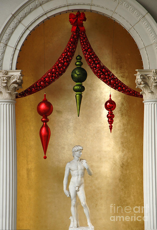 Christmas At Caesars Palace Photograph