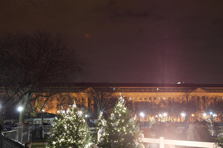 Christmas At The Ellipse - Washington Dc - 01134 Photograph
