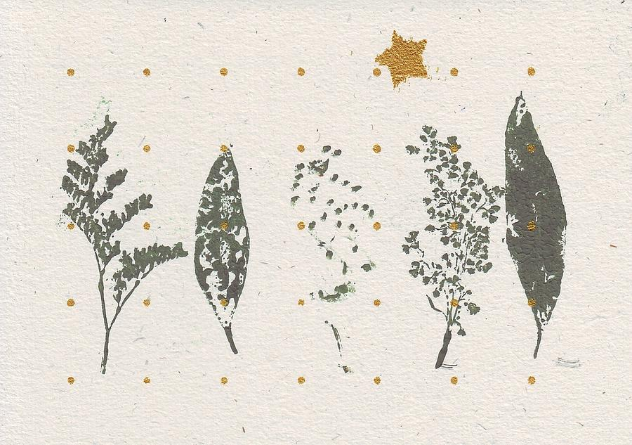 Greeting Mixed Media - Christmas Card 2 by Mary Adam