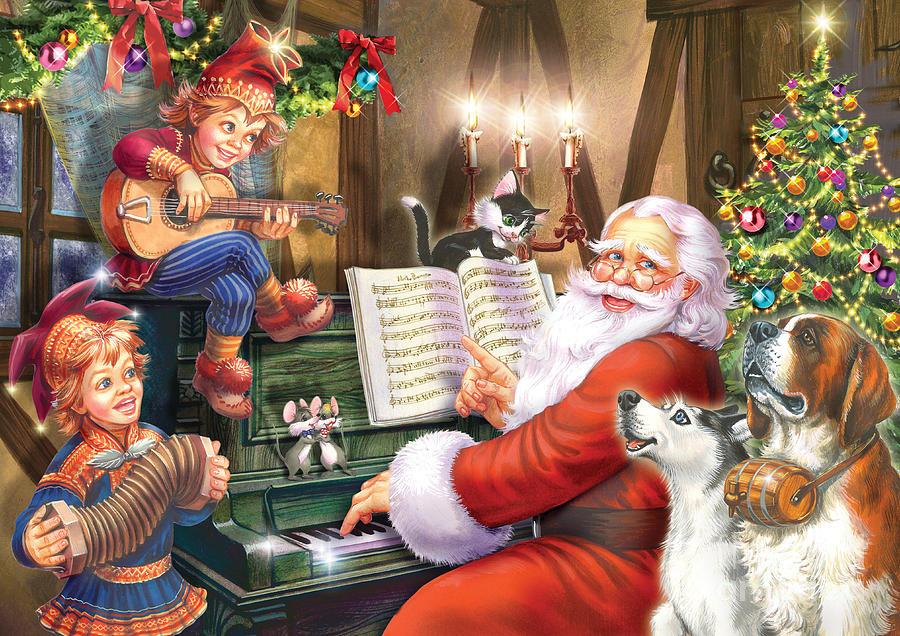 Christmas Carols Digital Art