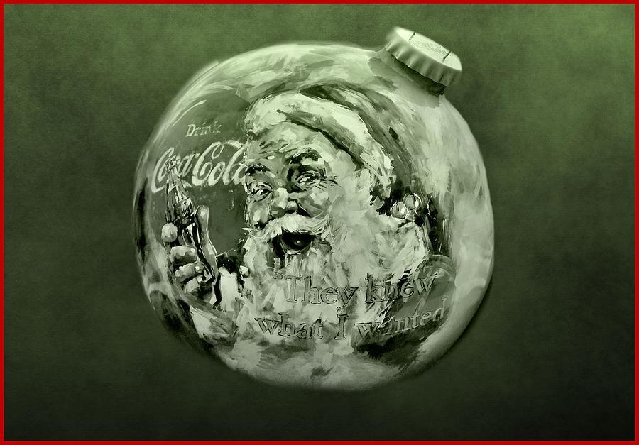 Christmas Coca Cola Photograph - Christmas Coca Cola by Dan Sproul