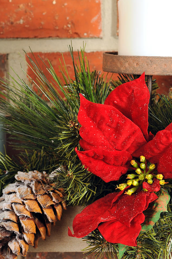 Christmas Photograph - Christmas Decor Close by Kenneth Sponsler