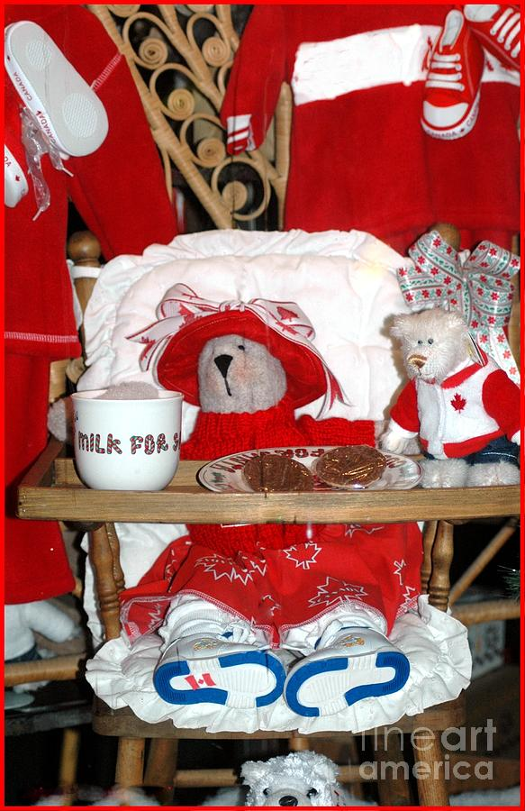 Teddy Photograph - Christmas Delights by Kathleen Struckle