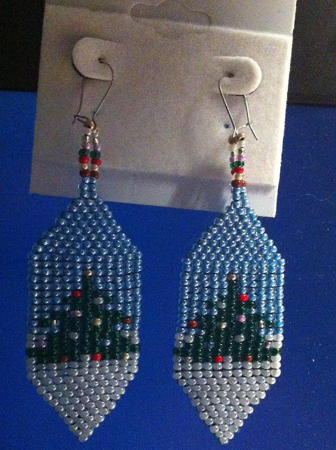 Christmas Earrings Jewelry