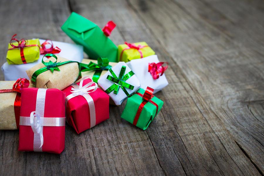 Christmas Gifts Photograph