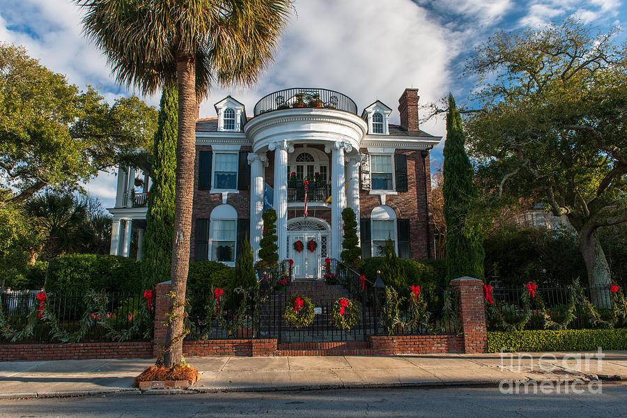 Christmas In Charleston Photograph