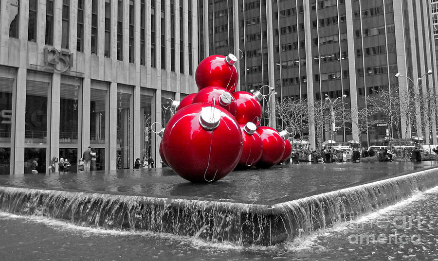 Christmas In The City Photograph  - Christmas In The City Fine Art Print
