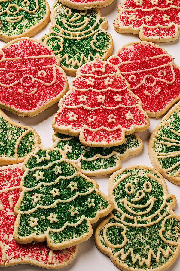 Christmas Sugar Cookies Photograph