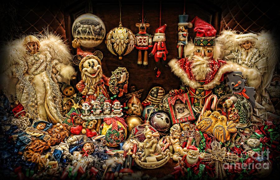 Christmas Photograph - Christmas Tree Ornaments by Lee Dos Santos
