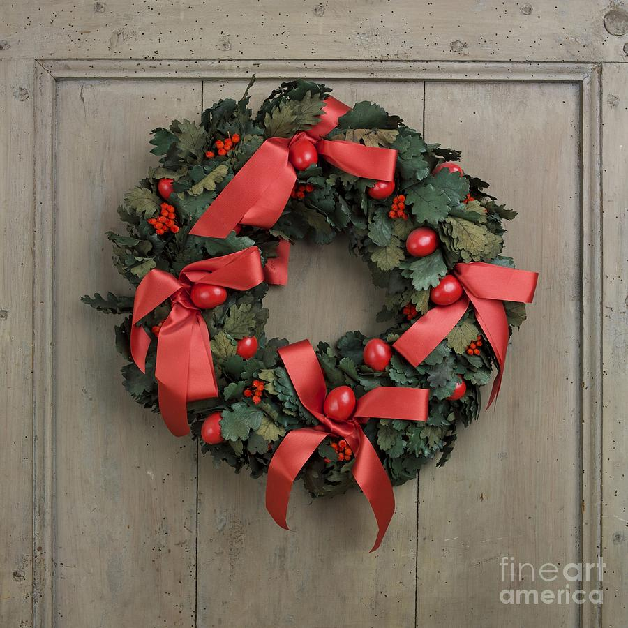 Christmas Wreath Photograph