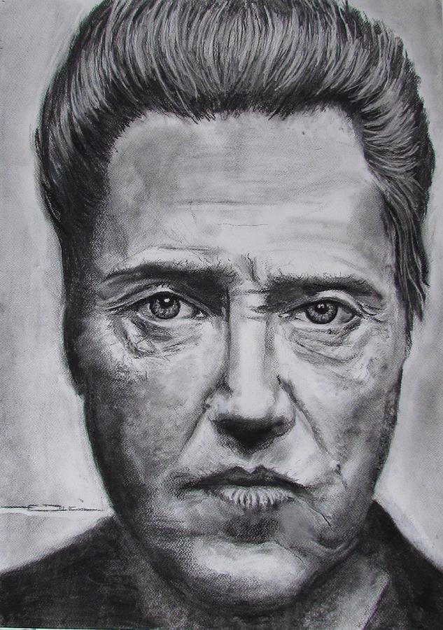 Christopher Walken Painting  - Christopher Walken Fine Art Print