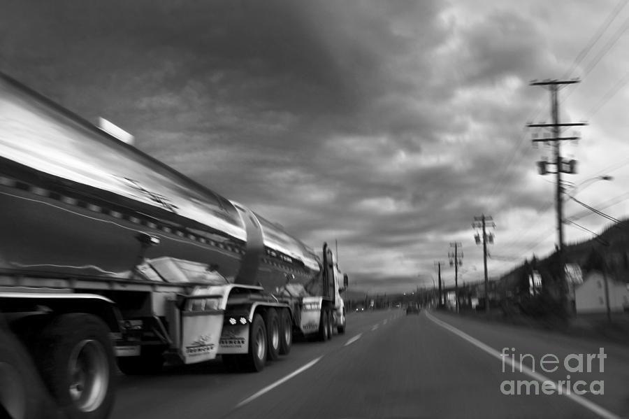 Chrome Tanker Photograph