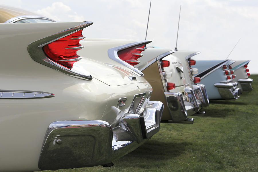 Chrysler Fins Photograph