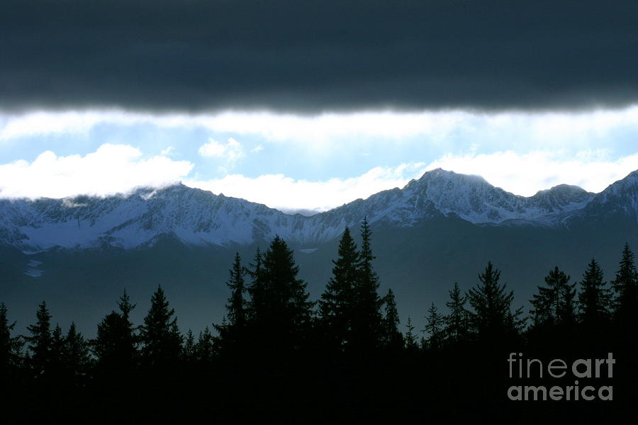 Chugach Mountains Photograph  - Chugach Mountains Fine Art Print