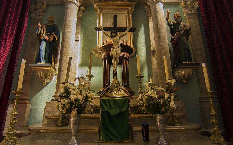 Church Altar Photograph