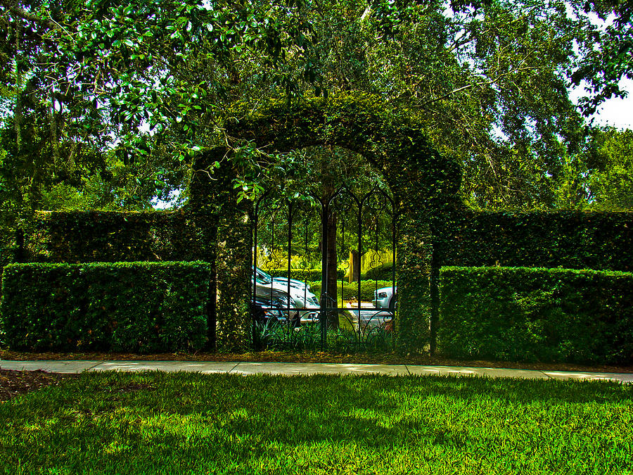 Church Gate Photograph  - Church Gate Fine Art Print