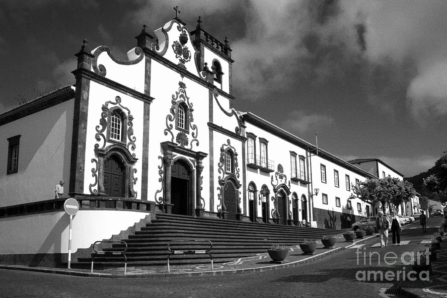 Church In Vila Franca Do Campo Photograph