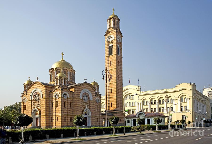 Banja Photograph - Church Of Jesus The Saviour by Ladi  Kirn