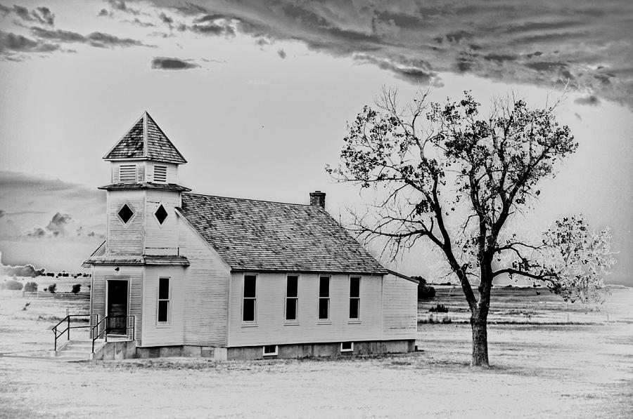Church On The Plains Photograph  - Church On The Plains Fine Art Print