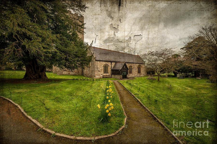 British Photograph - Church Path by Adrian Evans