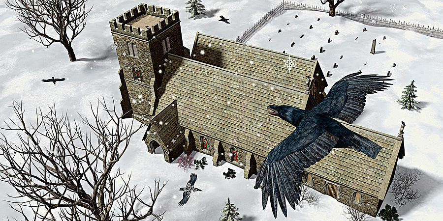 Church Ravens Photograph