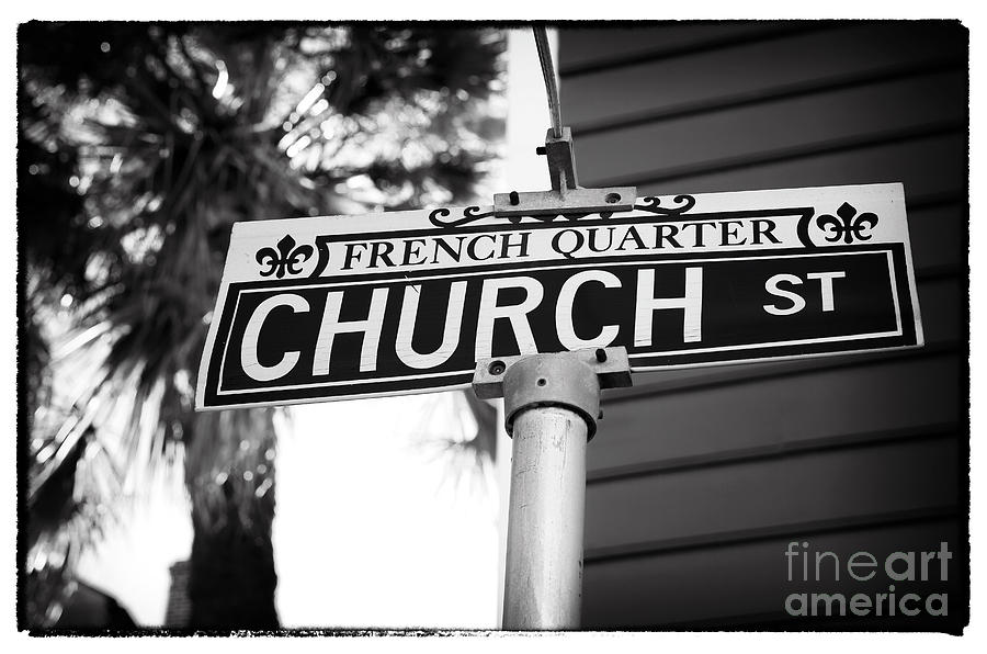 Church St Photograph  - Church St Fine Art Print