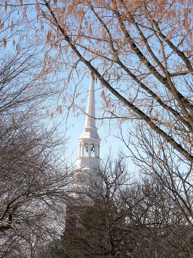Church Steeple Photograph  - Church Steeple Fine Art Print