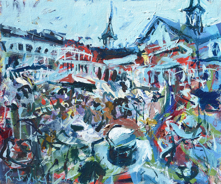 Churchill Downs Painting