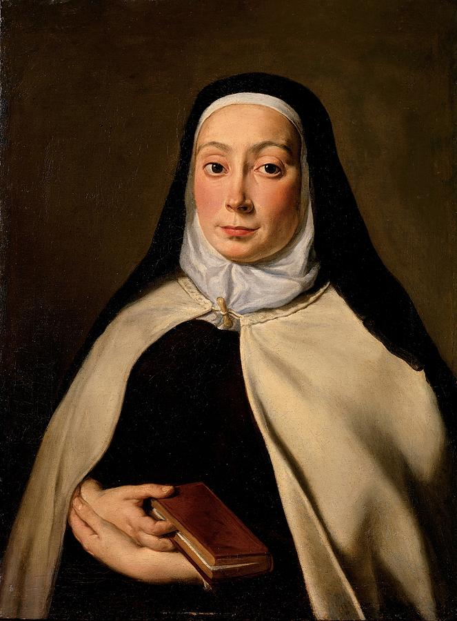 Cignani Carlo, Portrait Of A Nun, 17th Photograph