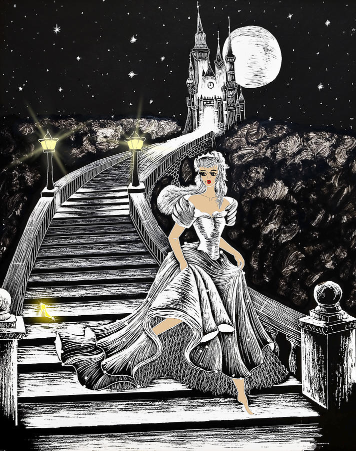 Art Painting - Cinderella by Svetlana Sewell