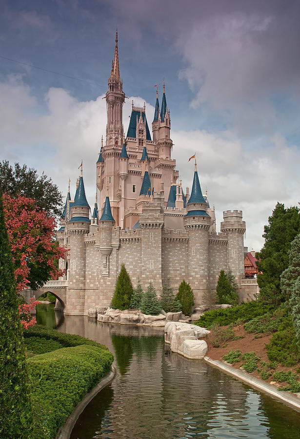 Cinderellas Enchanted Castle Photograph By John Black