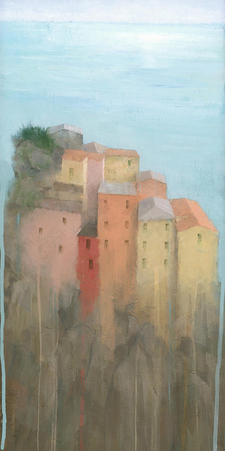 Art Painting - Cinque Terre by Steve Mitchell