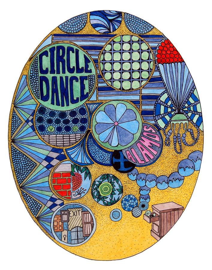 Architecture Drawing - Circle Dance by Gregory Carrico