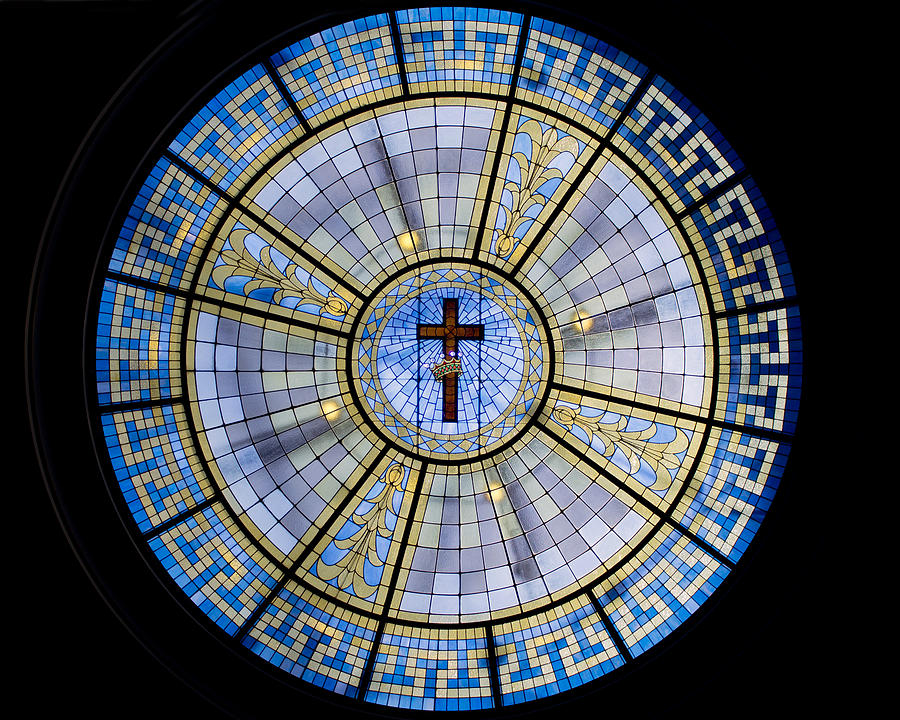 Church Photograph - Circle Of Christ by Dee  Savage