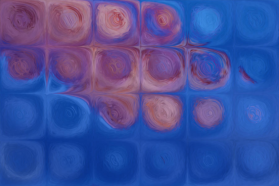 Goodbye Painting - Circles In Squares by Jack Zulli