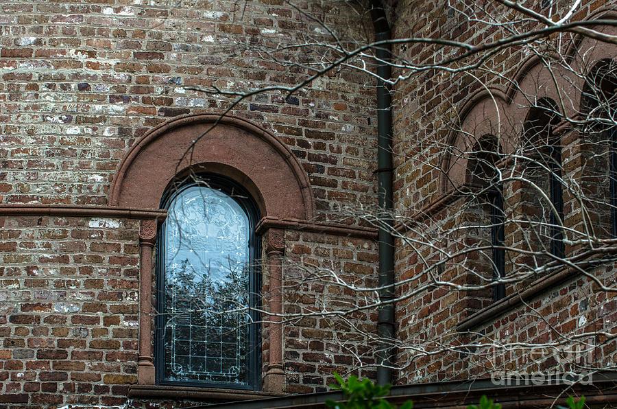 Circular Church Window Photograph