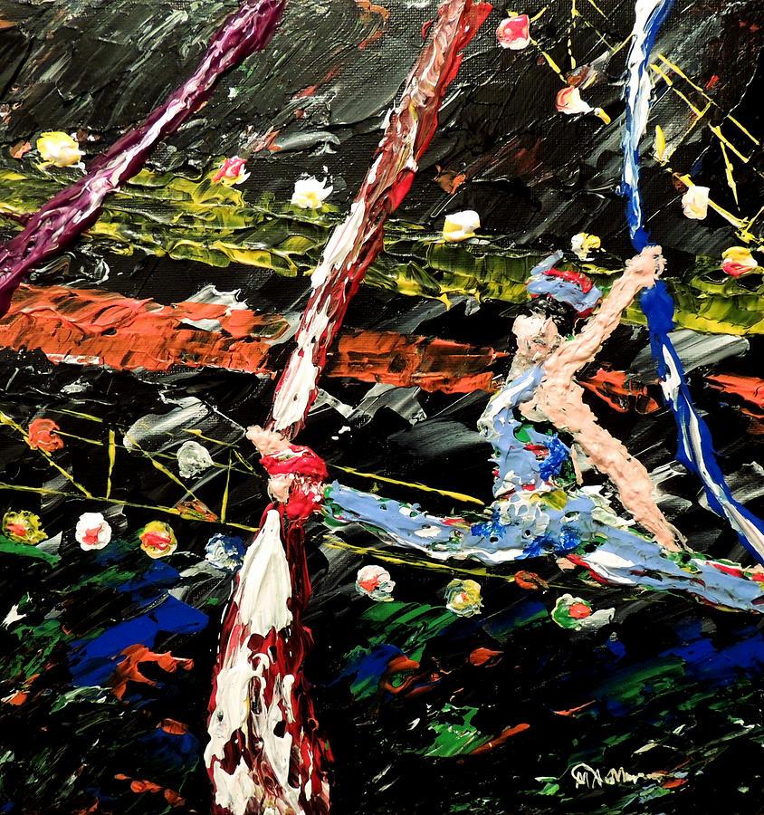 Cirque Du Soleil Silks Painting