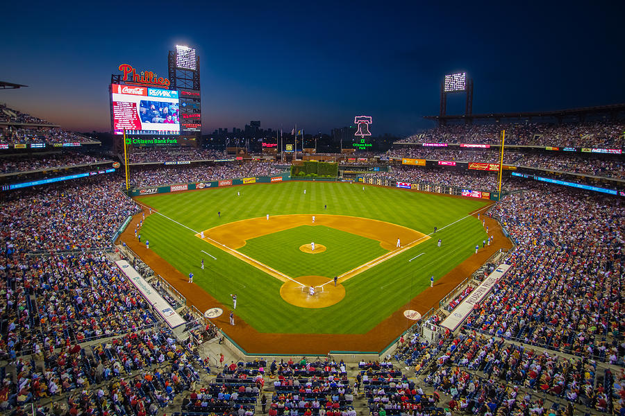 Citizens Bank Park Philadelphia Phillies Photograph
