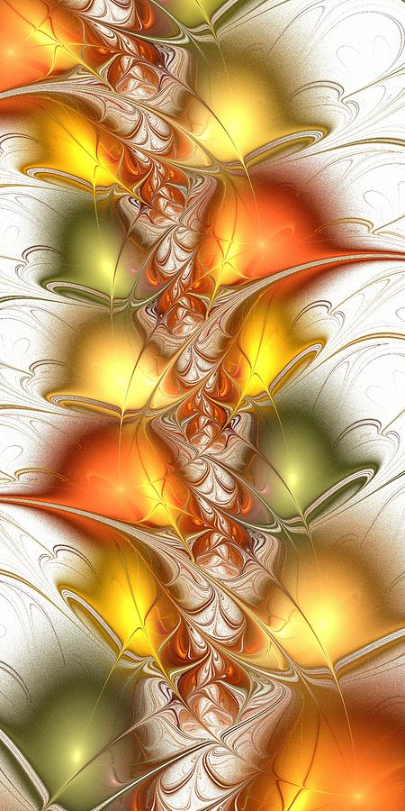 Malakhova Digital Art - Citrus Colors by Anastasiya Malakhova