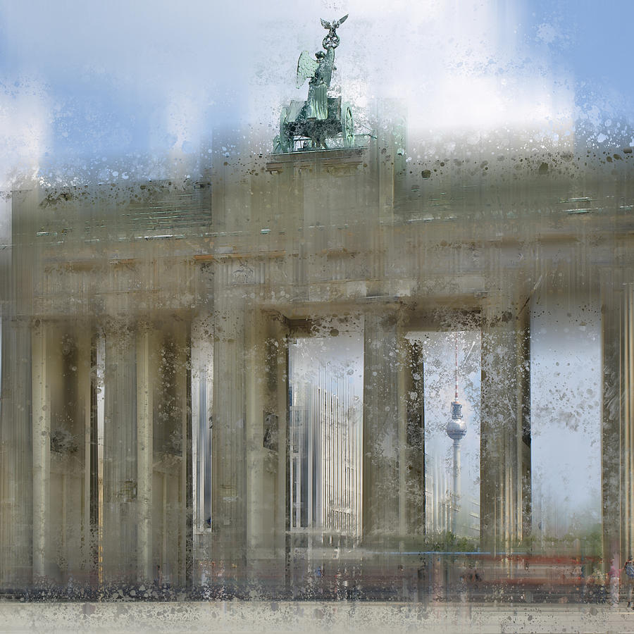 City-art Berlin Brandenburg Gate Photograph