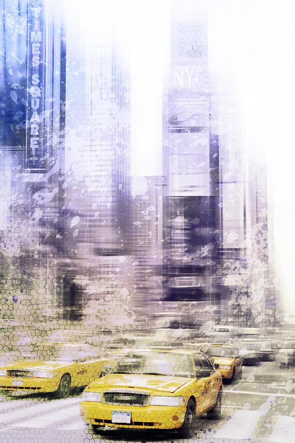 Big Apple Photograph - City-art Times Square I by Melanie Viola