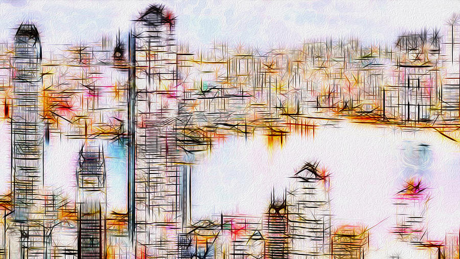 City By The Bay Painting  - City By The Bay Fine Art Print